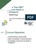 NTU Mental Health Introduction 2012