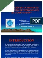 Inyeccion Nitrogeno en Ancon