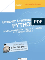 Apprenez a Programmer en Python