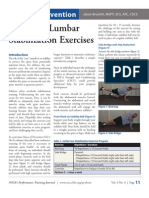 Advance Lumbar Stabilization