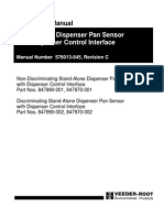 Stand-Alone Dispenser Pan Sensor