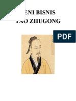 Seni Bisnis - Tao Zhugong