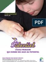 Talentiel Ecole Enfants Precoces