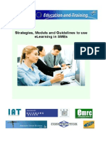 Guidelines to use eLearning in SMEs