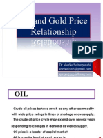 Oil and Gold Price Relationship
