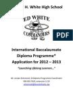 IB Application 2012-2013