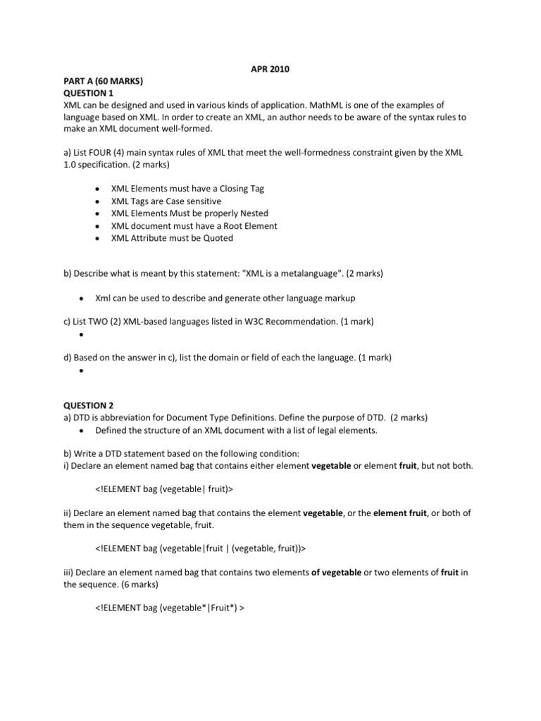 XML Final Skima | Xml | Xml Schema