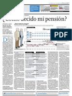 ¿Cómo decido mi pensión?
