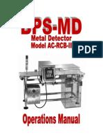 Metal Detector AC RCB II