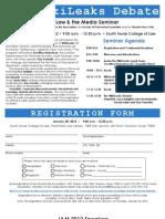 2012 Law & The Media seminar registration form