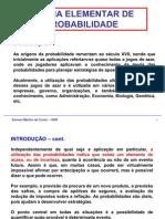 08 Teoria Elementar Da Probabilidade