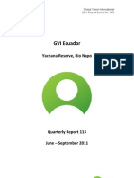 GVI Amazon Phase Report 113_JUNE-SEPT 2011