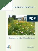 Bulletin Municipal 2011