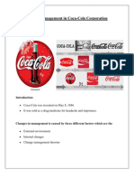Change Management in Coca