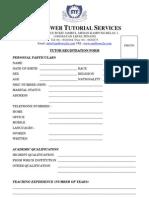 STS_TutorRegistrationForm