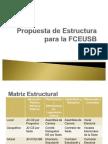 Propuesta de Estructura Para La FCEUSB Comision