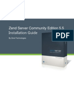 Zend Server CE Installation Guide 5 5