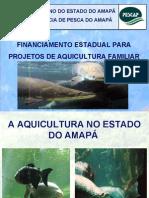 Financiamento Estadual para Projetos de Aquicultura Familiar Amapá