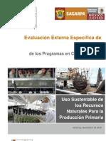 2009 Evaluacion Desempeño - Recursos Naturales COUSSA