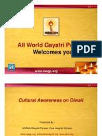Cultural Awareness on Diwali