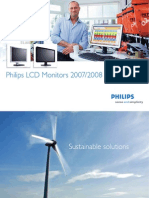 Brochure Philips LCD Monitors 2007 2008 En