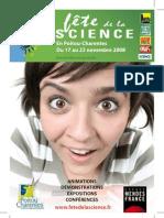 Fête Science 2008 en Poitou-Charentes