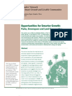 opportunities for smarter growth - parks, greenspace & land conservation