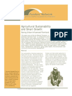 smart growth & agricultural sustainability- saving urban-influenced farmland