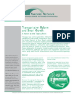 smart growth & transportation reform - a nation at the tipping point