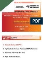 Plano Gov SP - Fomento cogeração