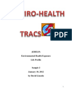 Enviro-Health Tracs Profile Sample 2
