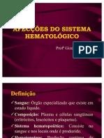AFECÇÕES DO SISTEMA HEMATOLÓGICO