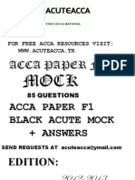 ACCA F1 CBE Black Mock || WWW.ACUTEACCA.TK