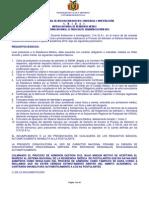 Convocatoria Nacional 2012 Residencia Medica