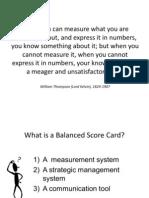 Balance Score
