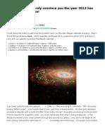 2012 Astronomia Maya