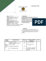 Proiect de Lectie 2012 Pedagogie