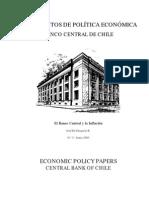 El BANCO CENTRAL Y LA INFLACIÓN