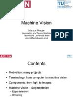 Folien SS2009 Machine Vision