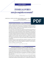 caso clinico citomegalovirua