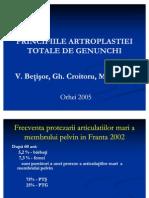 Principiile Artroplastiei Totale de Genunchi 1
