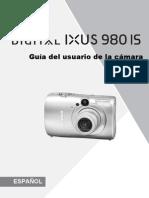 Manual Ixus 980 Is