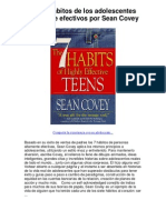 Los 7 hábitos de los adolescentes altamente efectivos por Sean Covey - Averigüe por qué me encanta!