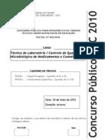 Tec._de_lab._Controle_de_Qualidade_Microbiólogica_de_Med._e_Cosméticos