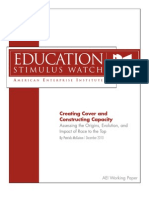 Creating Cover and Constructing Capacity