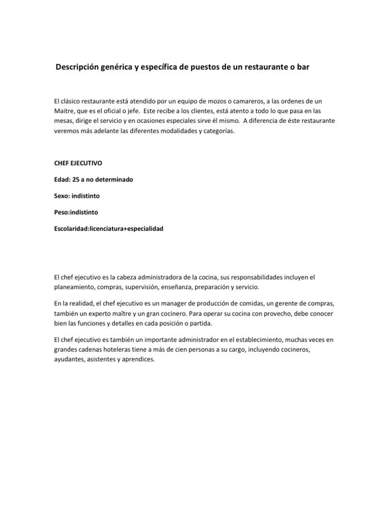 Magnífico Plantilla De Descripción De Trabajo De Administración ...