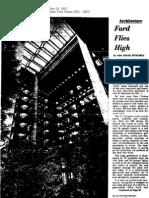 Ford Flies High