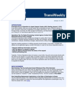 Electronic Weekly Newsletter - Published in ExactTarget (Email Marketing Software)