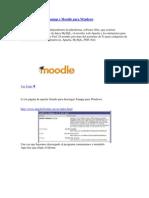 Manual Instalacion Moodle Con Xamp Server