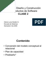 Clase2 ModeloRelacional y Prediseno
